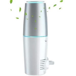 4. HomeZens Portable Plug-in Air Purifier for Viruses and Bacteria