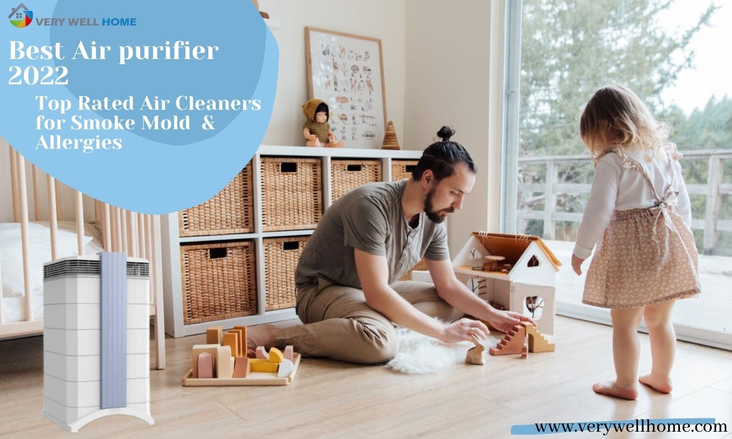 Best Air purifier 2022 - Top Rated Air Cleaners for Smoke Mold & Allergies